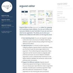 Argunet Editor - Argunet