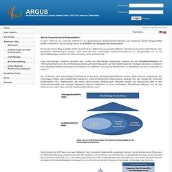 Argus die Kompetenzplattform: Home
