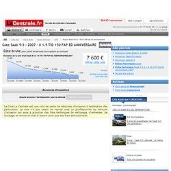 Cote Saab 9_3 2007 ii 1.9 tid 150 fap ed anniversaire