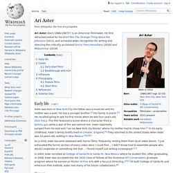 Ari Aster
