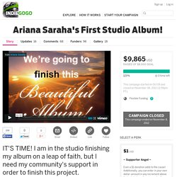Ariana Saraha's First Studio Album!