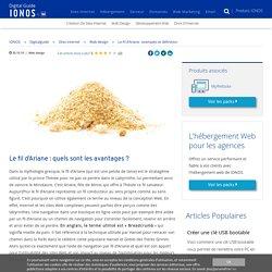 Le fil d'Ariane : exemples et définition - IONOS
