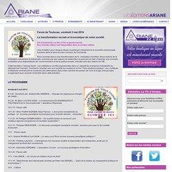ARIANE - Forum de Toulouse, vendredi 2 mai 2014