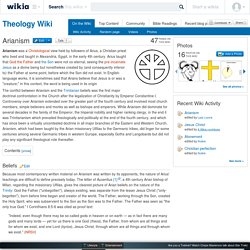 Arianism - Theology Wiki