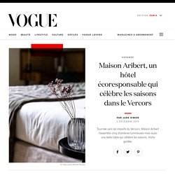 Maison Aribert, une belle table et un hôtel écoresponsable dans le Vercors