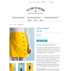 ARIELLE sewing pattern – Tilly and the Buttons