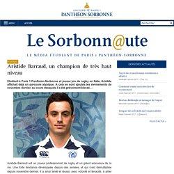Aristide Barraud, un champion de très haut niveau