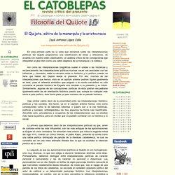 José Antonio López Calle, El Quijote, sátira de la monarquía y la aristocracia, El Catoblepas 80:9, 2008