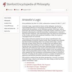 Aristotle's Logic
