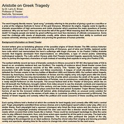 Essay on aristotle