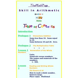 Arithmetic Problem Solver & Skill Builder