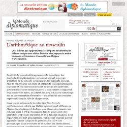 Manuels scolaires: l'arithmétique au masculin, par Carole Brugeilles et Sylvie Cromer