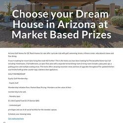 Arizona Golf Homes