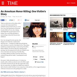 Arizona: Why an Iraqi Woman Fell Victim to Honor Killing