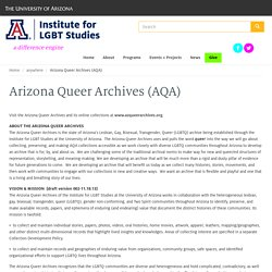 Arizona Queer Archives (AQA)