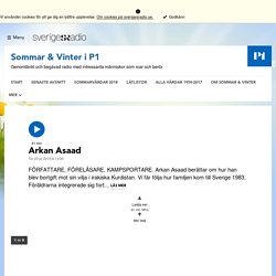 Arkan Asaad 23 juli 2015 kl 13:00 - Sommar & Vinter i P1