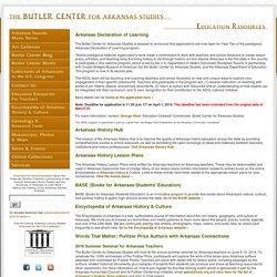 The Butler Center for Arkansas Studies