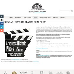 Arkansas Historic Places Film Prize