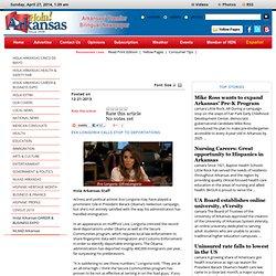 Hola Arkansas - Eva Longoria calls stop to deportations
