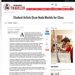 Student Artists Draw Nude Models for Class - The Arkansas Traveler: The Companion