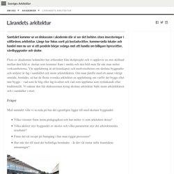 Lärandets arkitektur