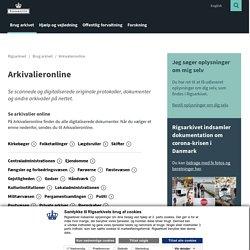 Arkivalieronline - se originale dokumenter på nettet