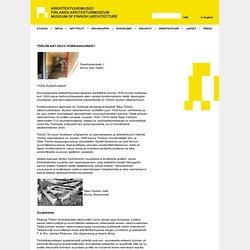 Töölön art deco -porrashuoneet - Arkkitehtuurimuseo