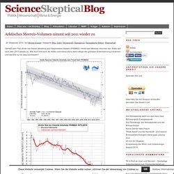 Arktisches Meereis-Volumen nimmt seit 2011 wieder zu - Science Skeptical Blog