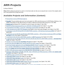 ARM projects