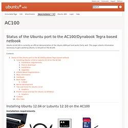 ubuntu ac100