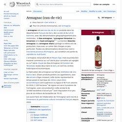 Armagnac (eau-de-vie)