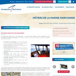 Armateurs de France - Les métiers de la marine marchande