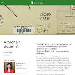Armchair Botanist