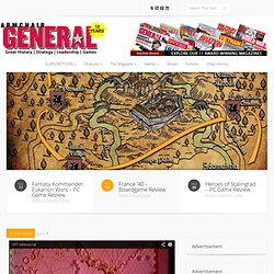 Armchair General Magazine – We Put YOU in Command!