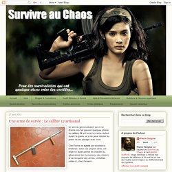 Une arme de survie : Le calibre 12 artisanal