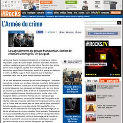 L'Armée du crime - Robert Guédiguian : LesInrocks.com