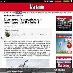 L'armée française en manque de Rafale ?