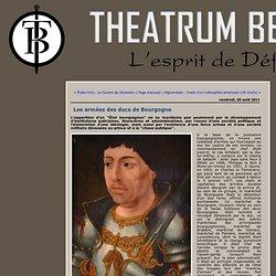 Les armées des ducs de Bourgogne