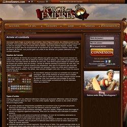 Les armées et les combats : les unités - Forge of Empires