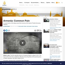Armenia: Common Pain