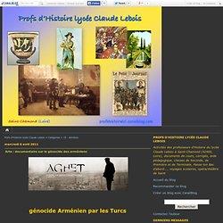 15 - Arménie - Profs d'Histoire lycée Claude Lebois