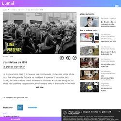 L'armistice de 1918 - Vidéo Histoire