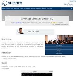 Armitage Sous Kali Linux 1.0.2