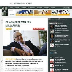Schatrijke venture capitalist: 'Hetze tegen rijken lijkt op jodenvervolging'