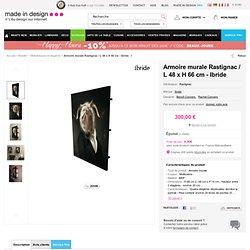 Bibliothèque Les Dandys - Rastignac H 66 x L 48 cm Rastignac / Tons bruns - Ibride