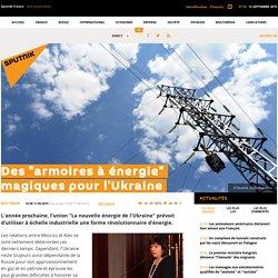 """Des """"armoires à énergie"""" magiques pour l'Ukraine"""