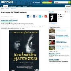 Armonías de Werckmeister.