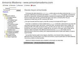 Intervalos - Armonia Moderna .com