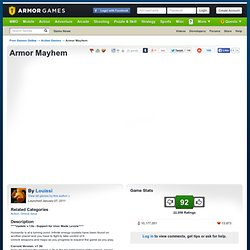 Armor Mayhem | Action Games