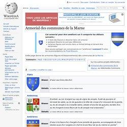 Armorial des communes de la Marne